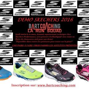 Démo Skechers 2016 et paire de souliers àgagner